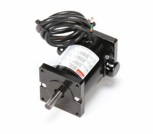 Dayton 4Z141 DC Permanent Magnet Motor, 90VDC, 1/18 HP, 1800 RPM, TENV