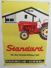 PORSCHE DIESEL Poster - Standard - PORSCHE-DIESEL Erfolg - gelb - 29,7 x 42,0 cm