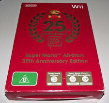 Super Mario All Stars 25th Anniversary Edition Nintendo Wii PAL Wii U Compatible