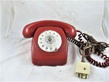 ORIGINAL AUSTRALIAN PMG 1970'S RED TELEPHONE