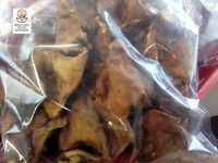 EMMA´s knusprige Schweineohren, 1kg, deutsche Herkunft, Hunde, getrocknet