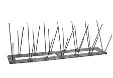BIRD & PIGEON STEEL SPIKES DEFENDER, DETERRENT - 1,05 meters - ANTI BIRD SPIKES