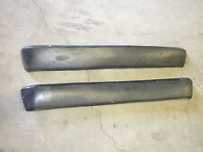 Jaguar Series XJ XJ6 III (3) rear bumper right AND left side rubber ends set