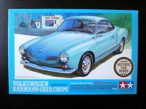 Spotless ! TAMIYA 1/24 VW KARMANN-GHIA COUPE 1966 Model Nostalgic  !!