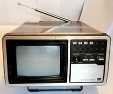 RARE FIND @ -1980 TOSHIBA ANALOGUE PORTABLE TV C-631 - GOOD WORKING CONDITION