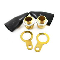 4TRADE PACK OF 2, 20mm SWA BRASS GLAND KITS WITH SHROUD EARTH TAG & LOCKING NUT