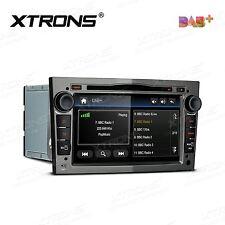 In Car DVD Stereo GPS Sat Nav DAB+ Radio for Opel Vauxhall Antara Vivaro Grey