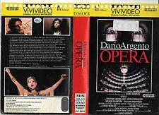 OPERA DI DARIO ARGENTO (1987) vhs ex noleggio