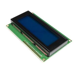 LCD 20x4 Display Blue 2004 with optional header Arduino Rasp Pi UK Seller