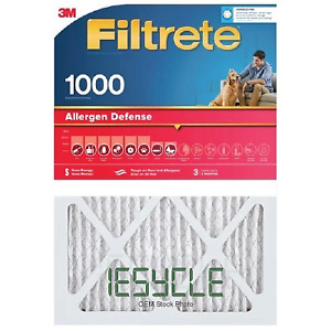 """NEW 2-Pack of 3M Filtrete electrostatic cleaning filters. 16"""" X 25"""" X 4"""""""