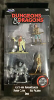Dungeons & Dragons Die Cast Miniatures 4 Figures Set From Jada toys  Free ship