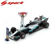 Spark F1 Mercedes AMG W08 Lewis Hamilton 1/43 Mexican GP 2017 World Champion