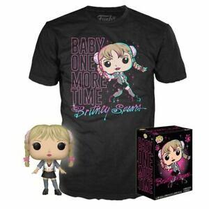 Funko Collector's Box Britney Spears POP Vinyl Figure + Large T-Shirt POP Tee