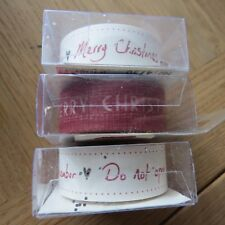 EAST OF INDIA Vintage Style Christmas Paper Tape - Choice of 3