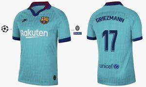Trikot Nike FC Barcelona 2019-2020 Third UCL - Griezmann 17 [152-XXL] Barca 3rd