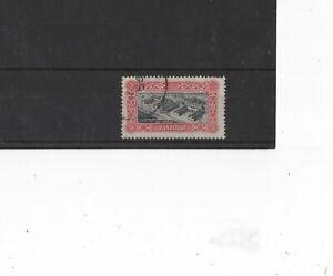 ZANZIBAR , 1952, SG350 TYPE 40 5s BLACK AND RED, USED    CV £10.00+