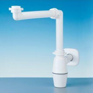 """LIRA A.0011.01 Raumspar Flaschen Siphon 1,25"""" Waschtisch Becken Unterschrank"""