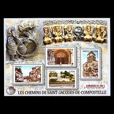 France 2015 - Streets of Saint Jacques de Compostelle Architecture - Sc 4802 MNH