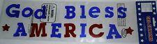 Patriotic Window Gel God Bless America