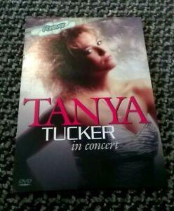 TANYA TUCKER - IN CONCERT - DVD - 16 TRACKS - REGION 0