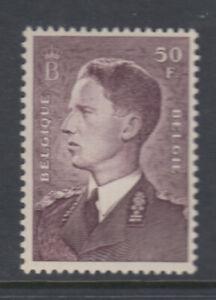Belgium Sc 449a King Baudouin 50 fr Violet Brown Mint Never Hinged ($100)
