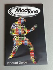 Modtone Guitars Pedal Effects Product Sales Catalog Brochure 8-10 Pages Amps Wah