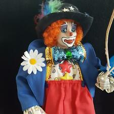 Danbury Mint Twinkles the Circus Clown Collector Doll Porcelain Collectors Doll