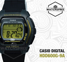 Casio Digital Watch HDD600G-9A