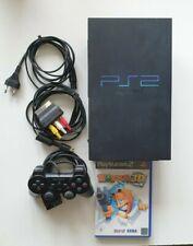 Playstation 2 PS2 Konsole schwarz SCPH-50004 mit 1 Controller und Spiel Worms 3D