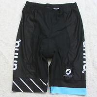 Pactimo Black Bike Cycling Padded Race Shorts Mans Large Polyester Elastane V9