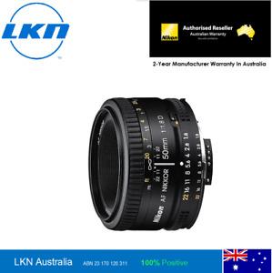 Nikon Nikkor AF 50mm f/1.8D Lens - 2 Year Nikon Australia Warranty