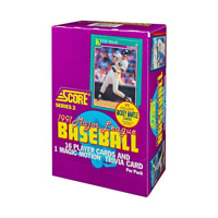 1991 SCORE SERIES 2 BASEBALL CARDS