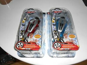 Power Rangers - RPM - BLUE AND RED  Ignitor Gauntlet. NEW