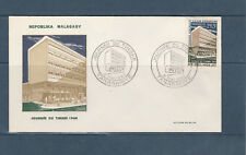 Madagascar   enveloppe 1er jour  journée du timbre   1964