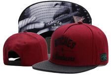Hip Hop Men's CAYLER Sons Cap adjustable Baseball Snapback Street Black hat 33#