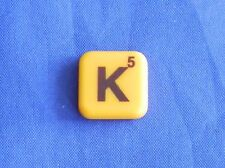 Words With Friends Single Magnet K Tile Replacement Game Parts Pieces Craft