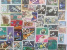 300 diferentes espacio/cohetes/Cosmos en Colección de sellos