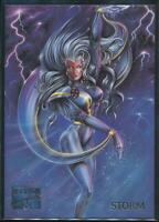 1995 Marvel Masterpieces Trading Card #96 Storm