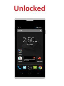 """ZTE Boost Luna B815 3G 850/2100 4""""  White"""
