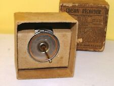 Antique Edison Recorder Reproducer National Phonograph Company in Original Box!!