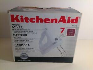 KitchenAid 7-Speed Hand Mixer KHM7Q Gloss Cinnamon No Attachments
