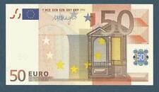 billet 50 EURO - Allemagne (M Draghi) 2002 - E001A1 - X88060855448 Neuf