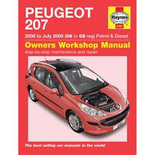 Manuels et carnets d'entretien d'automobiles pour Peugeot
