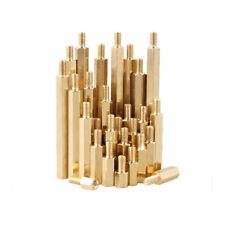 2.5mm Brass Column Standoff Support Spacer M2.5 Male x M2.5 Female Thread 6mm