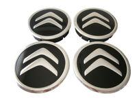 CITROEN Wheel Center Hub Centre Caps for Alloy Rims Set 4 x 60mm Alu Emblem