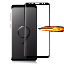FULL SIZE CURVED FIT TEMPERED GLASS SCREEN PROTECTOR FOR SAMSUNG GALAXY S9+ PLUS