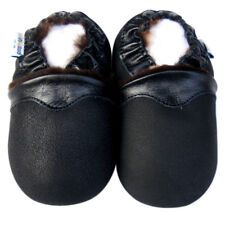Littleoneshoes Soft Sole Leather Baby Infant Kid Children SheepSkin Shoes 6-12M