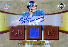 Eli Manning 2007 Upper Deck NFL ARTIFACTS #nfl-em Autograph  15/15