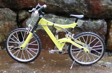 Miniature Yellow Mt Bicycle w/Shocks 1/10 Scale