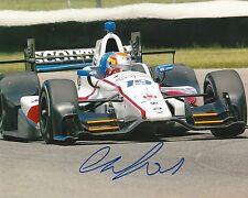 Ed Jones signed 8x10 photo Irl Indy with Coa